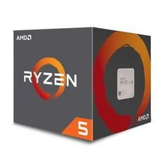Foto Processador AMD Ryzen 5 2600 c/ Wraith Stealth Cooler, Six Core, Cache 19MB, 3.4GHz (Max Turbo 3.9GHz) AM4 - YD2600BBAFBOX | Kabum