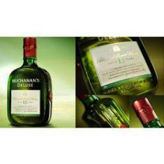 Foto Whisky Buchanas DELUXE 12 anos 1L | Shoptime