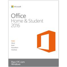 Foto Office 2016 Home and Student FPP | Quero Preço*
