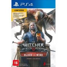 Foto The Witcher 3 Wild Hunt Blood  Wine  Pacote De Expansao Ptbr Cpp Impbra Ps4 Cdp | Americanas