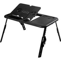 Foto Mesa p/ Notebook - A Sys - E-Table - Preta | Submarino