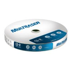Foto Midia Virgem CD-R 700MB 52x Multilaser - (pack 10) - CD027 MULTILASER | Carrefour-
