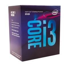 Foto Processador Intel Core i3-8100 Coffee Lake 8a Geração, Cache 6MB, 3.6GHz, LGA 1151 Intel UHD Graphics 630 - BX80684I38100 | Kabum