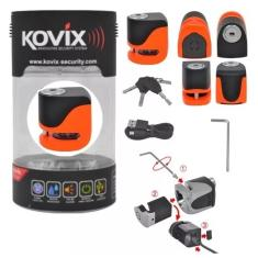 Foto Trava Kovix Disco KS6FO C/Alarme Laranja Fluor | Speed Motos*