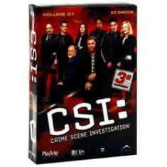 Foto DVD - CSI - 3ª Temporada - Volume 1 | Shoptime