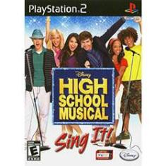 Foto Game High School Musical: Sing it! PS2 | Submarino