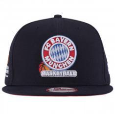 Foto Boné Aba Reta New Era Bayern Munique - Snapback - Adulto - AZUL ESCURO  New 26ec9f5d892