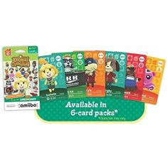 Foto AMIIBO CARDS ANIMAL CROSSING SERIES 1 - PACK C/ 6 | Amazon