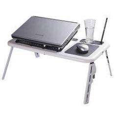 Foto Mesa P/ Notebook - A Sys - E-Table - Branca | Shoptime