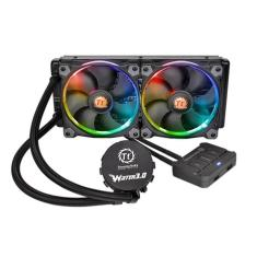 Foto Water Cooler Riing 326 Mm 12V Rgb Cl-W107-Pl12sw-A Thermaltake | Carrefour