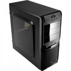 Foto Gabinete Gamer MID Tower V3X Window Preto Aerocool | Bits & Bytes*
