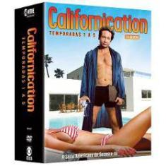 Foto Dvd - Californication - Temporadas 1 A 5 | Shoptime