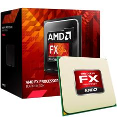 Foto Processador AMD FX-6300, Black Edition, Cache 14MB, 3.5GHz (4.1GHz Max Turbo), AM3+ FD6300WMHKBOX AMD | Loja do Alemão*