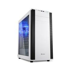 Foto Gabinete ATX Sharkoon Som Virtual 7.1 Integrado, USB 3.0, Branco - M25-W | Kabum
