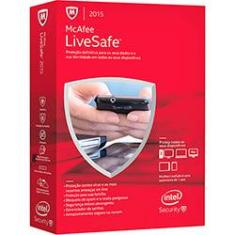 Foto Antivirus McAfee Live Safe 2015 BR Mini Box | Submarino