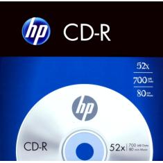 "Foto Cd-R ""Hp"" Envelope Com 1 700Mb- 80Min-52X 