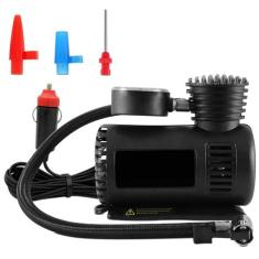 Foto Mini Compressor de Ar Automotivo Multiuso Compacto 12V 300 PSI 20,7 Bar Preto | Carrefour-