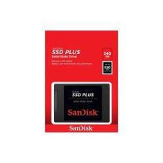 Foto Hd Ssd Sandisk Plus 240gb G26 530-400 Mb/s | Submarino