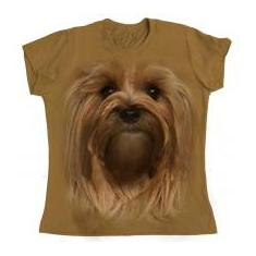 Foto Camiseta Mr Pet Baby Look - Yorkshire - Tam.M  | Magazine Luiza-