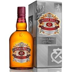 Foto Whisky Chivas Regal 12 Anos - 1000ml | CLICKBAR