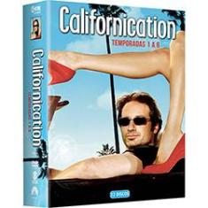 Foto DVD - Coleção Californication 1ª a 6ª Temporada (12 discos) | Shoptime