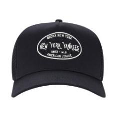 Foto Boné Aba Curva New Era 940 New York Yankees Core Label - Snapback -  Trucker f3869828f7a