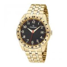 7729733838a Foto Relógio Champion Masculino Ref  Ca31382u Casual Dourado