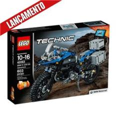 Foto Lego Technic - 42063 - Bmw R 1200 Gs Adventure | Pontofrio -