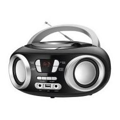 Foto Rádio Portátil Mondial FM 6W CD Player Display Digital NBX-13 Entrada USB | Magazine Luiza