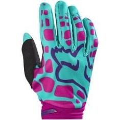 Foto Luva Fox Dirtpaw Woman 17 Roxo/Rosa | Shoptime