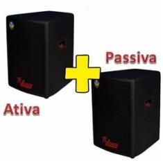 Foto Kit Caixa Ativa+passiva Leacs Pulps 480 Watts King Musical | Pontofrio -