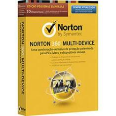 Foto Norton Antivírus 360 Multi Device 2.0 - 10 Dispositivos/12 Meses | Shoptime