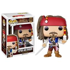 Foto Piratas Do Caribe Capitão Jack Sparrow Pop Vinyl - Funko | Amazon