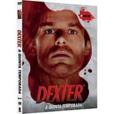 Foto Box DVD Dexter - 5º Temporada (4 DVDs) | Shoptime