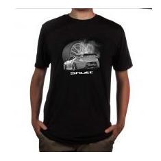 Foto Camiseta Shutt 370Z Sport Car Casual Preta Estampa Cinza e Branca - GG   5b47c89bd31