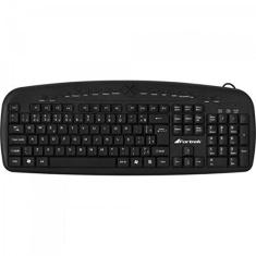 Foto Teclado Multimidia USB MKL-101 Preto Fortrek | Amazon