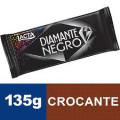 Foto Tablete Chocolate Diamante Negro 135g - Lacta | Walmart -