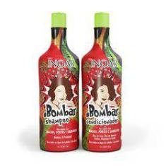 Foto Inoar Kit Duo Bombar Shampoo + Condicionador 250ml | Shoptime