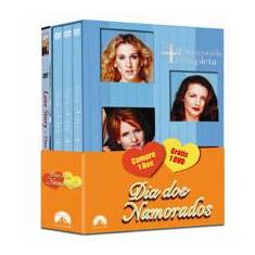 Foto DVD Sex and the City 4 (3 DVDS) + Love Story - Uma História de Amor | Shoptime