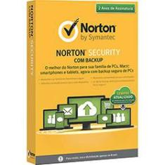 Foto Norton Antivírus Security 2.0 com 25GB de Backup Online - 10 Dispositivos/24 Meses | Americanas