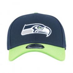 Foto Boné New Era 9FORTY Seattle Seahawks - Snapback - Adulto - AZUL ESCURO  New Era de15f1748a4bc