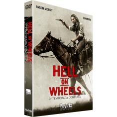 Foto DVD Hell On Wheels - 3ª Temporada - 4 Discos | Saraiva -