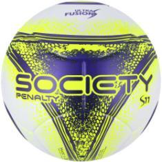 29c75b58fa Foto Bola Society Penalty S11 R3 Ultra Fusion VIII - BRANCO AMARELO Penalty