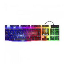 Foto Teclado Gamer Multimídia CHROMATIC GK-710 Preto com LED Colorido FORTREK  | Magazine Luiza