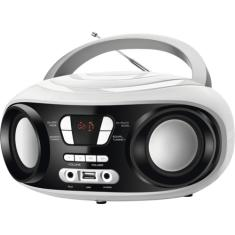 Foto Rádio Portátil Up White Mondial, USB, AUX, Display Digital - BX14 | Novo Mundo