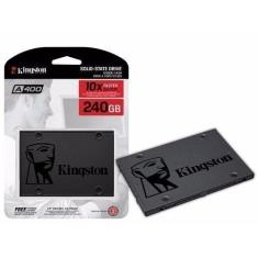 Foto SSD - 2,5pol / SATA3 - 240GB - Kingston A400 - SA400S37/240G | Amazon