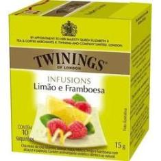 Foto Twinings of London cha limao e framboesa caixa com 10 saches | Walmart -