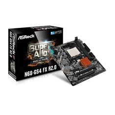 Foto Placa-Mãe ASRock p/ AMD AM3+ mATX N68-GS4 FX R2.0 DDR3  | Kabum