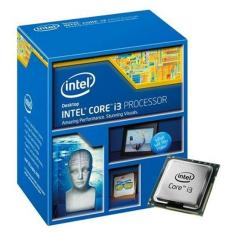 Foto Processador Intel Core I3-4360 Haswell, Cache 4mb, 3.7ghz, Lga 1150, Intel Hd Graphics 4600 | Lux Golden*