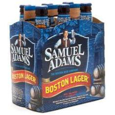 Foto Cerveja Samuel Adams Boston Lager - Pack 6 Unidades (355ml) | Shoptime